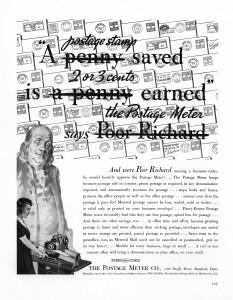 Piney Boews ad 1939 Fortune magazine ad