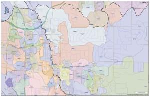 Mailnig route map for 80134, Parker colorado Mailing Route Maps for Parker, Colorado
